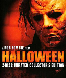 Halloween-2007-Malcolm-McDowell-Rob-Zombie-039-s-2-Disc-Collectors-BLU-RAY-NEW