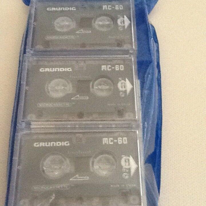 Båndoptager, Grundig, MC 60 Mikrokassette