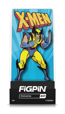 Figpin X-Men Animated Series ALL 4 Pins Bundle 1st Edition Hard Case Brand New