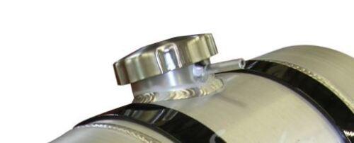 2.75 Gallon  with Vent Tube 1//4 NPT 8x12 Center Fill Spun Aluminum Gas Tank