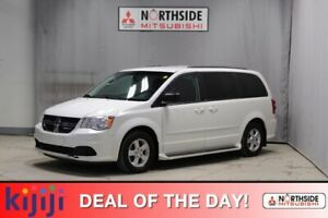 2012 Dodge Grand Caravan SXT 3rd Row,  Back-up Cam,  Bluetooth,