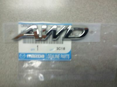 2013 2014 2015 2016 Mazda CX5 rear awd emblem oem new free shipping !!