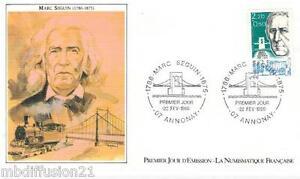 1986-ENVELOPPE-ILLUSTREE-FDC-1-JOUR-MARC-SEGUIN-INGENIEUR-TIMBRE-Y-T-2399