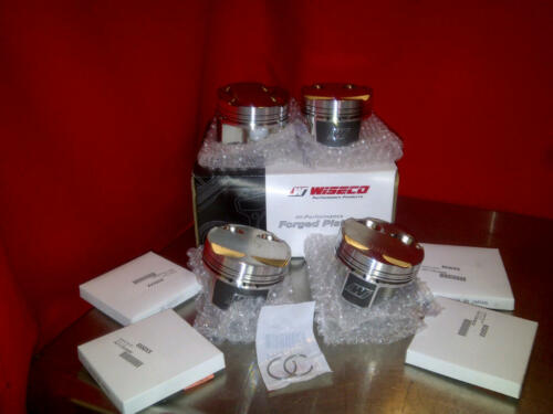 Wiseco 2.3 LONG ROD Pistons Mitsubishi Evolution Evo 7 8 9 E85 K669M855AP 9.2 CR