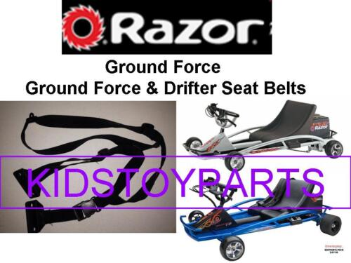 W25143499034 Crazy Cart Razor GROUND FORCE Seat Belt for Versions V17 NEW