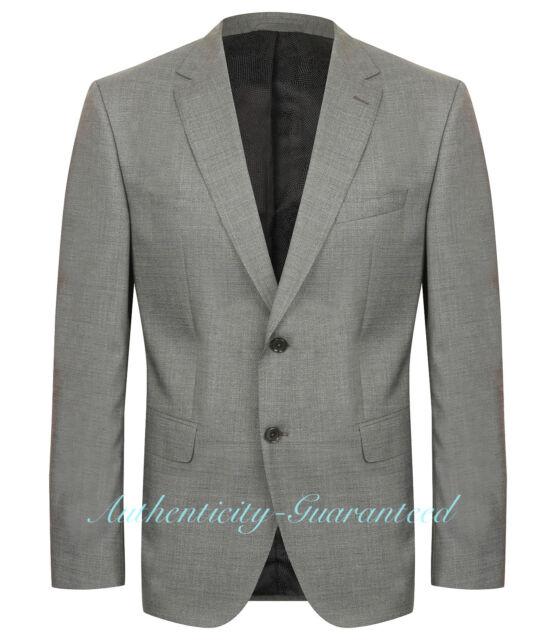 ab7ad94e8e4 Hugo Boss Men s Super 120 Grey Suit Size 52 for sale online