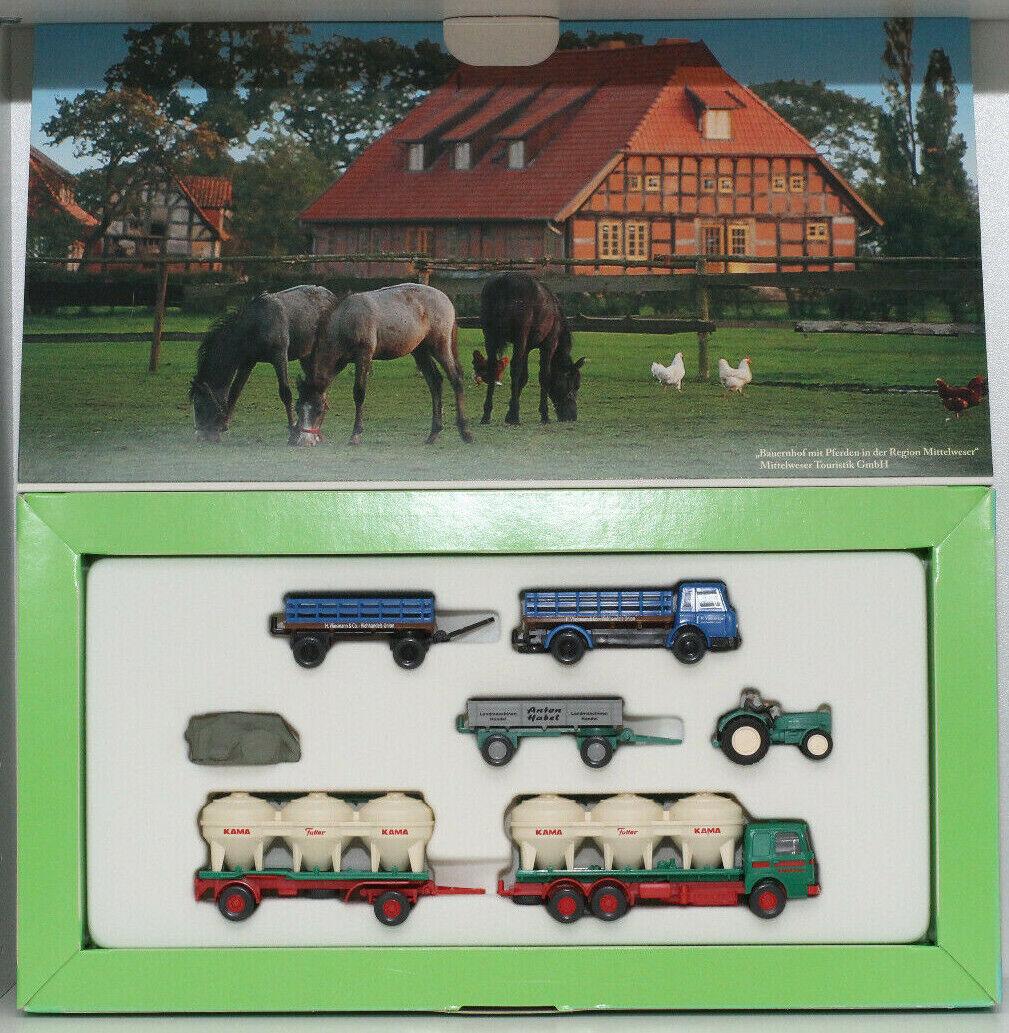 1 87 Set Daheim und auf dem Land   Wiking Collect. Historica   Modelauto LKW H0