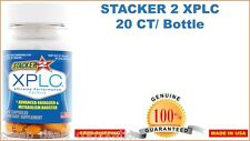 Genuine Stacker 2 XPLC 20 Capsules Bottle Ephedra Free Herbal Dietary Supplement