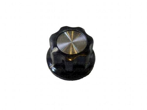 "5pcs Pot Knob 0.77/"" x 0.45/"" 1//4/"" Shaft A01 HAM Radio Audio Volume Tone Control"