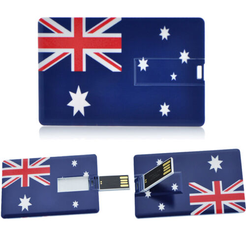 USB 2.0 Flash Drive 4GB 8GB 16GB 32GB Credit Card USB Memory Stick Storage Thumb