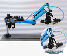 M3 M12 Flexible Arm Universal Pneumatic Tapping Machine Multi Direction Tapping