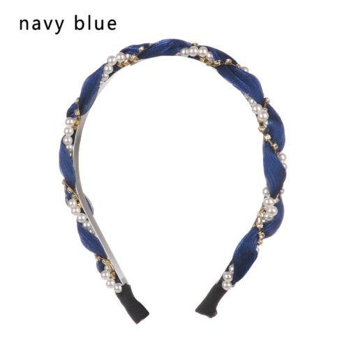 Rhinstone Crystal Headband Kappe für Haare Pearl Hairbands Zubehör für Haare