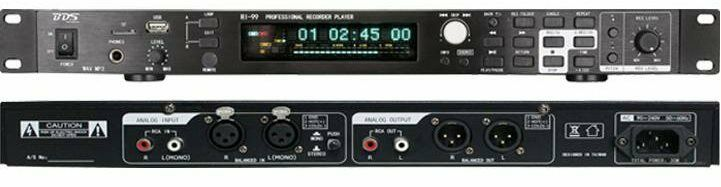 BDS Professional USB TF Recording Player 2019