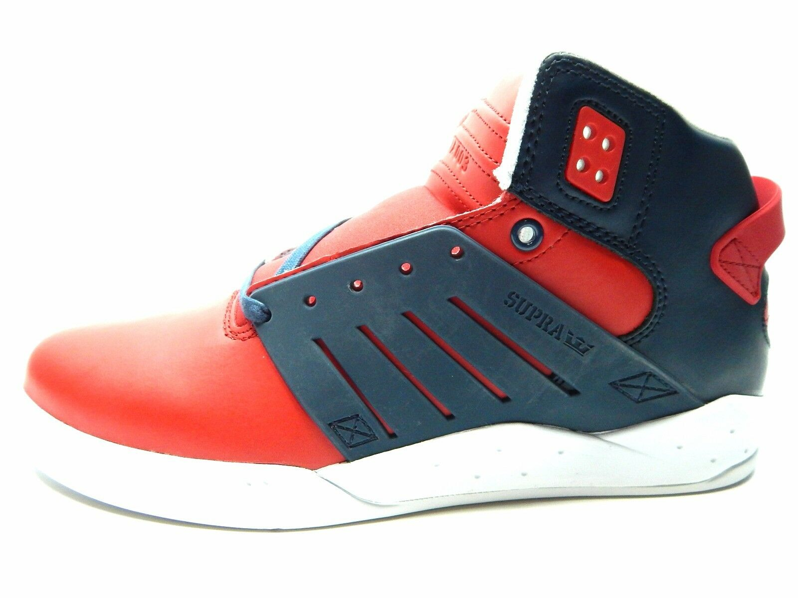 SUPRA hommes SKYTOP III rouge NAVY blanc hommes Chaussures SIZE 11