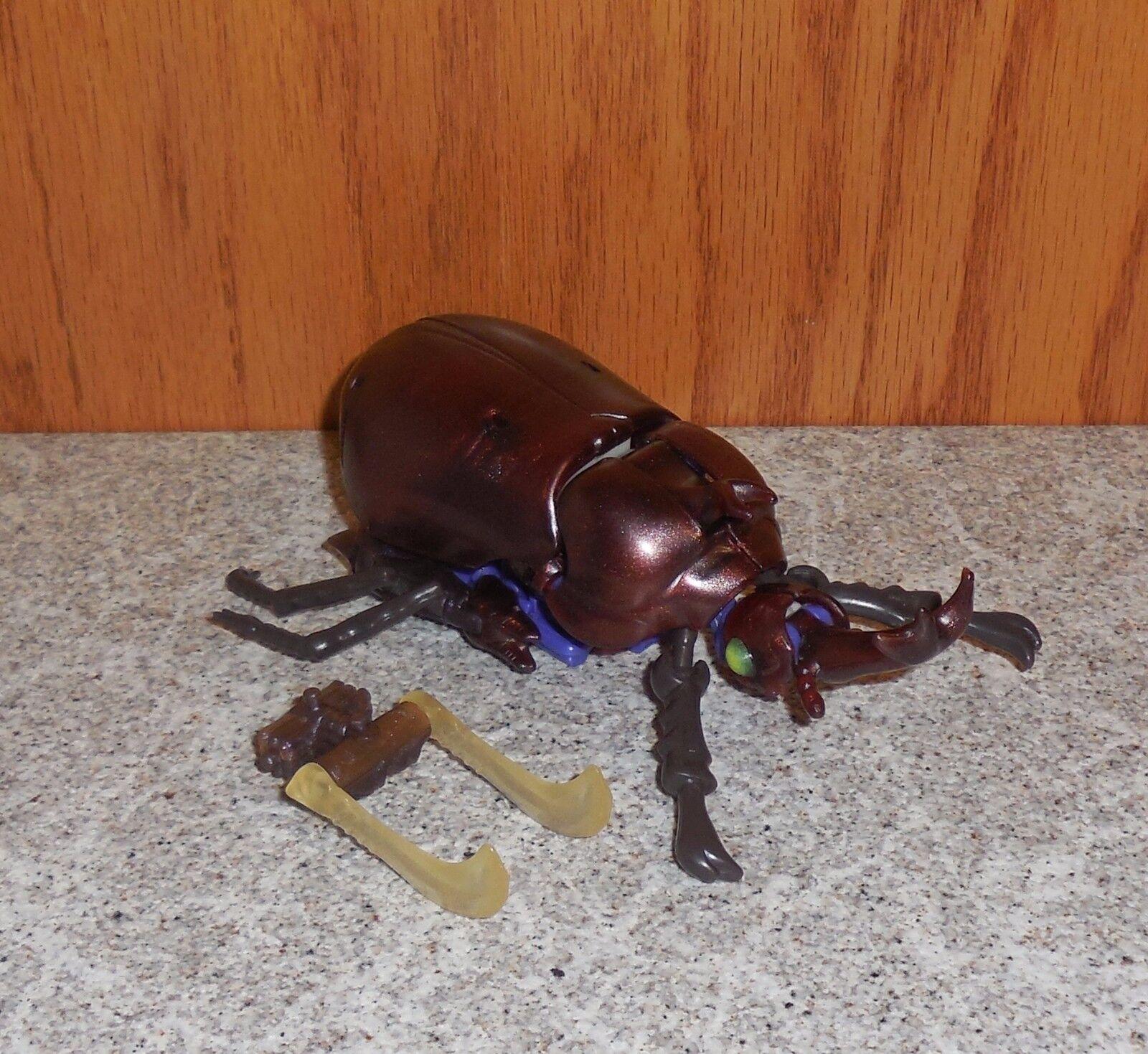 Transformers Beast Wars RAMHORN Complete Tripredacus Beetle Combiner Figure