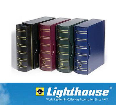 4 ENCAP Pages BLUE Coin Slab Album GRANDE For Graded Coins LIGHTHOUSE NGC PCGS