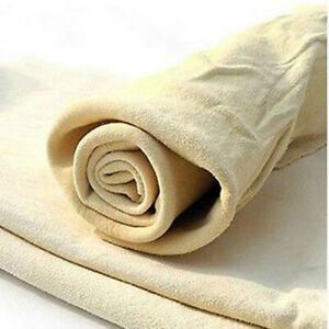 Natural-Chamois-Leather-Car-Washing-Cleaning-Cloth-Absorbent-Drying-Towel-HOT-NT