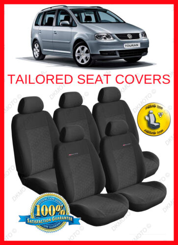 P1 Tailored seat covers for VW TOURAN   2003-2009  5 seats FULL SET