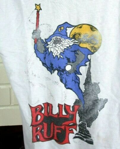 VTG 80s G & S Billy Ruff (S) SKATEBOARD T-SHIRT Go