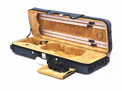 Musical Instruments & Gear Orchestral Sporting Vc-700bl 4/4 Pro Enhanced High Quality Foamed Violin Case+free 4/4 String Set