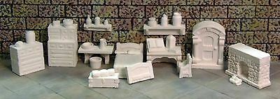 DIY UnPainted Room In The Inn Set - Works with Dwarven Forge and DnD D&D
