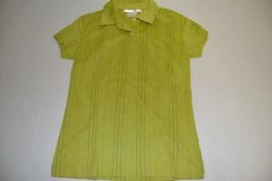 NIKE-GOLF-GREEN-STRIPED-DRY-FIT-POLO-SHIRT-WOMENS-SIZE-XS