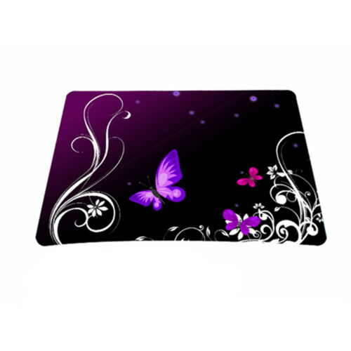 Purple Butterfly Anti-Slip Mouse Mice Pad Mat Mouse pad For Optical Laser Mouse