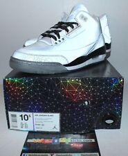 Air Jordan Retro 3 III 5lab3 Grey Silver 3M Sneakers Men's Size 10.5 Brand New