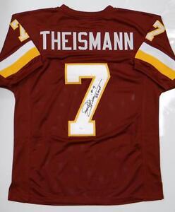 Joe-Theismann-Autographed-Maroon-Pro-Style-Jersey-W-MVP-JSA-W-Authenticated