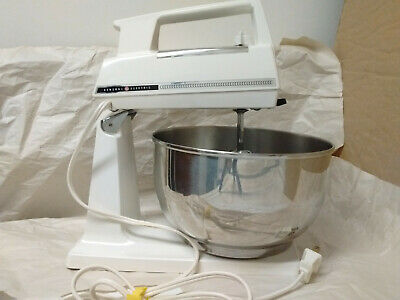 Vintage General Electric D3m46 Stand Mixer With Bowl Ebay