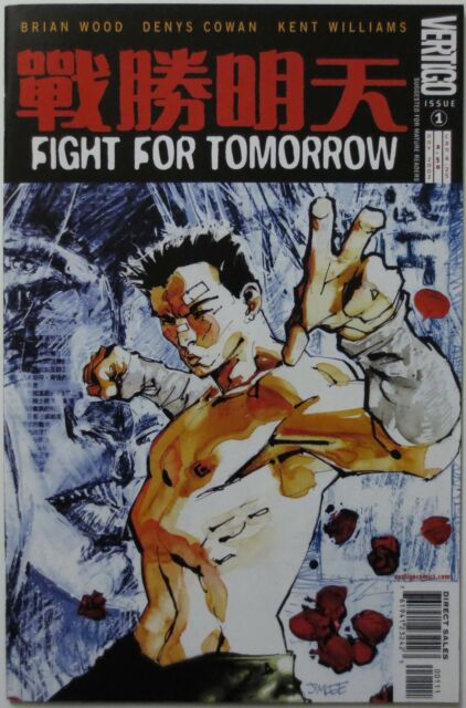 Fight for Tomorrow #1 (Nov 2002, DC) Vertigo Mature Readers (C1943)
