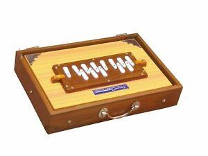 "SHRUTI BOX~TEAK WOOD~SWAR PETI~ SIZE (15"" X 10"" X 3"")~440 Hz~BHAJAN~KIRTAN~YOGA"