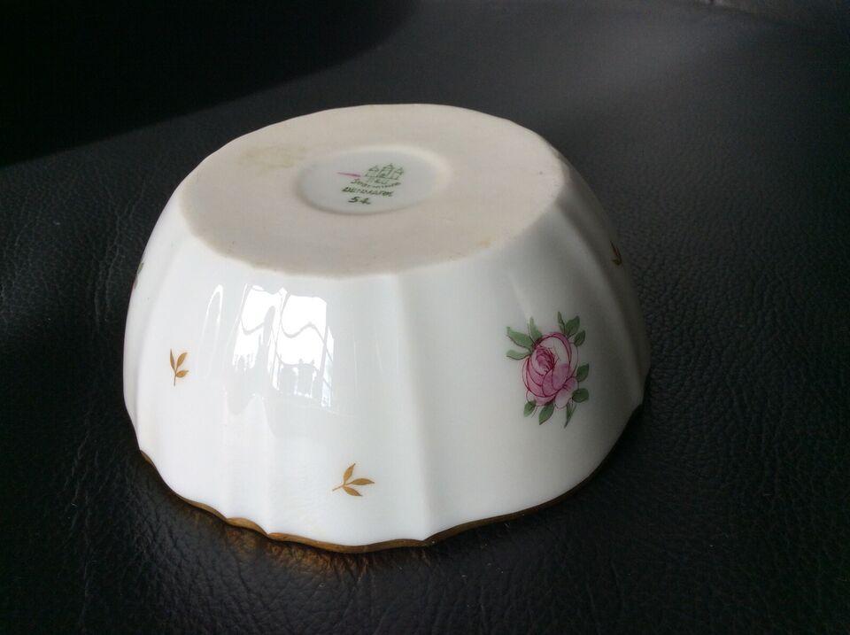 Porcelæn, Spejlægspande, sjælden