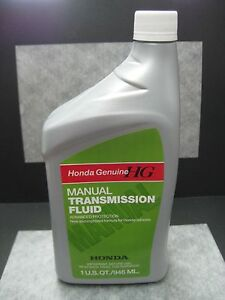 honda genuine mtf manual transmission fluid oem 1 quart. Black Bedroom Furniture Sets. Home Design Ideas