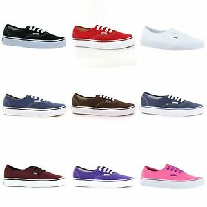 59065253b16751 Image is loading Vans-Authentic-Unisex-Mens-Womens-Ladies-Trainers-With-