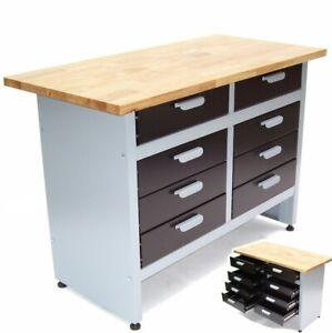 Werkbank Werktisch Schubladen Montagewerkbank Schubladenschrank Werkzeug Tisch