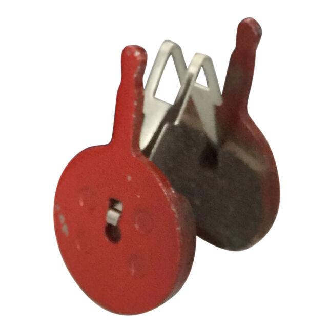 Resin,Semi-Metallic,Sintered Metal 2 Pairs Bicycle Disc Brake Pads for Avid Mechanical BB5