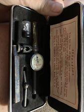 Vintage Starrett No 711 F 001 Last Word Universal Test Indicatorcase