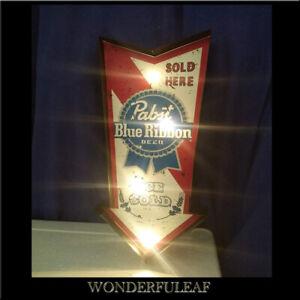 Pabst Blue Ribbon Sign Beer Bar Pub Party Decor Metal