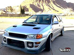 Image Is Loading Rpg Subaru Impreza Hood Vent Frp Induction Scoop