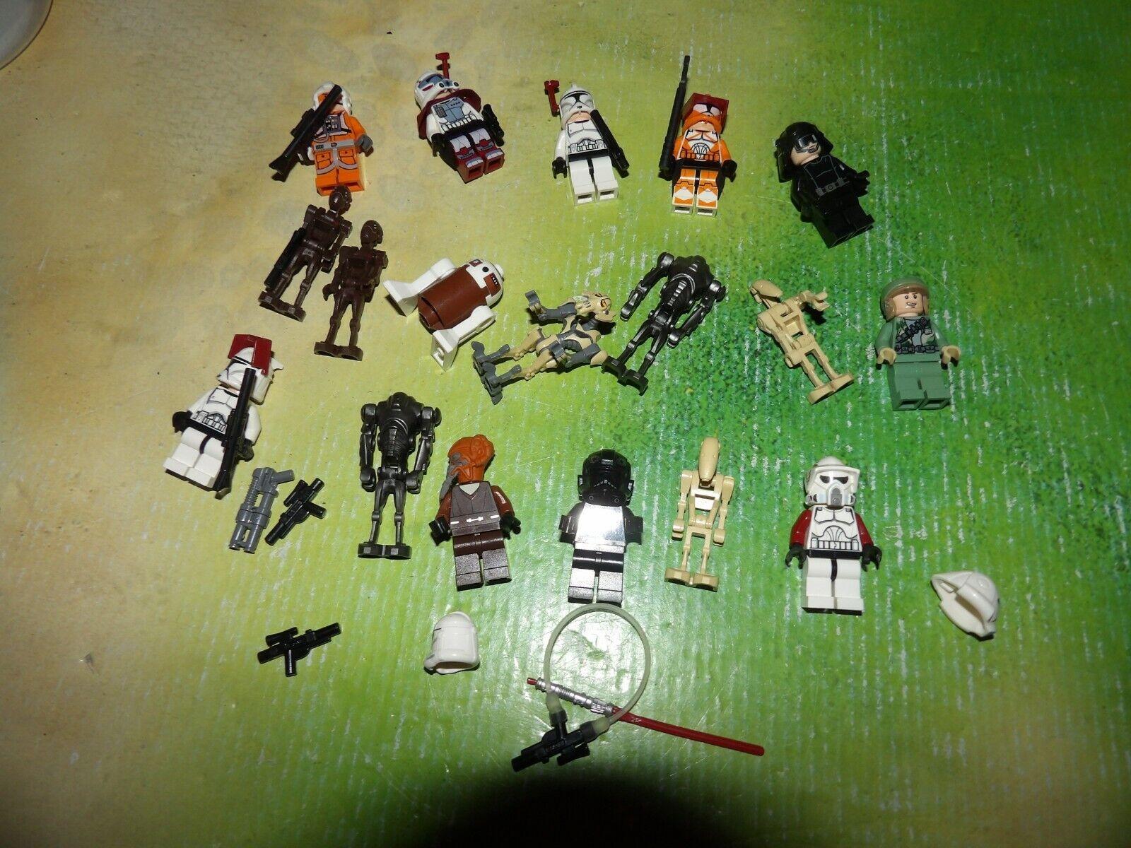 LEGO,  la raccolta 18 estrella guerras Personaggi  spedizione veloce a te