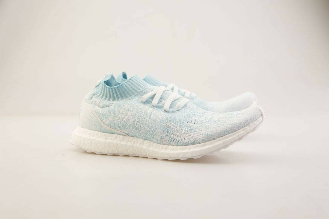Adidas Uomo Uncaged UltraBOOST Uncaged Uomo Parley Icey Blue White CP9686 2efd9d