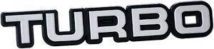 Auto-3D-Relief-Schild-TURBO-Aufkleber-Emblem-selbstklebend-10-cm-HR-Art-14820