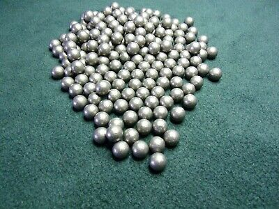 50 9 mm approx round lead balls catapult slingshot ammo