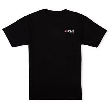 Official Squid Game Iconic Oversized Heavyweight Black T-Shirt Tee Size XS-XXL