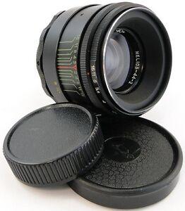 gewartet-Helios-44-2-58mm-f-2-Russische-Objektivfassung-m42-Panasonic-Lumix-Olympus