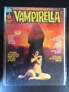 VAMPIRELLA-Revista-40-March-1975-FN-WARREN-TERROR
