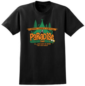 Carry On Camping Inspired Paradise Camp T-shirt - Retro Classic British Film Tee