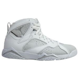 3655e16e7cf Air Jordan 7 VII Retro Pure Money Mens 304775-120 White Platinum ...