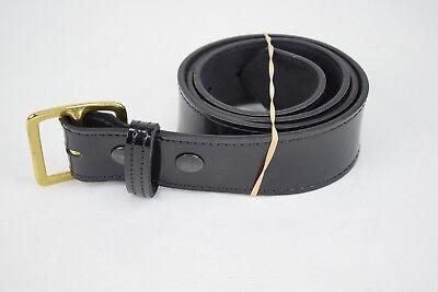 Gould /& Goodrich H52 Black Leather Police Duty Belt Holster